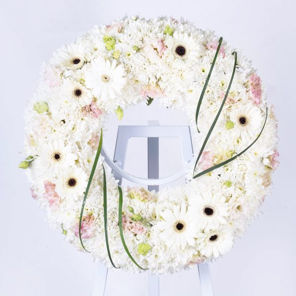 Condolence Wreaths & Funeral Flowers Malaysia - Graceful Wreath