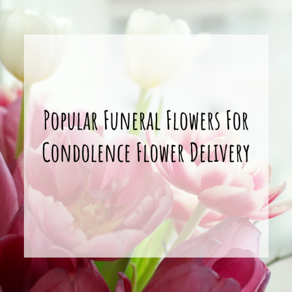 Popular Funeral Flowers For Condolence Flower Delivery